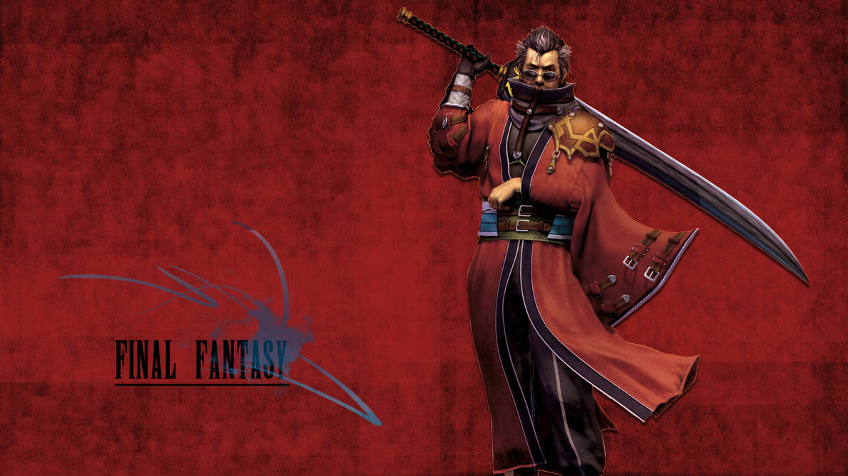 Final Fantasy Wallpaper (Auron) by JaidynM