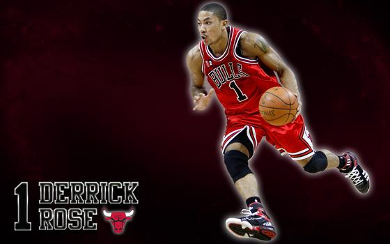 Derrick Rose (Chicago Bulls) Wallpaper by JaidynM
