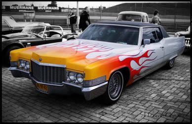 1970 Cadillac Coupe De Ville by compaan-art