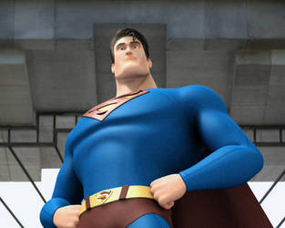 Superman toon by alejit0