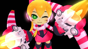 [MMD] Call - Mighty No 9 by sonicgenesis