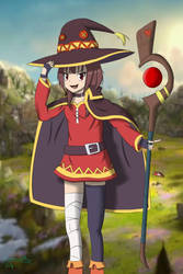 Megumin by LeventePohr