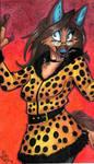 Cheetah Gal by Stray-Sketches