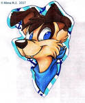 Badge Commission-Elliot by Stray-Sketches