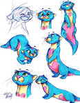 Momo doodles by Stray-Sketches