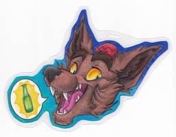 Mini Badge-Nodnash by Stray-Sketches