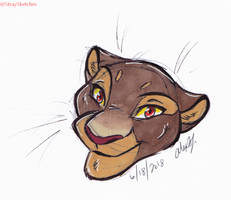 TLK-Sarabi doodle by Stray-Sketches