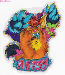 Bust Badge-Artsy by Stray-Sketches