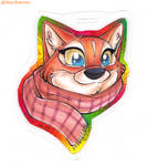 Mini Badge-Pidge by Stray-Sketches