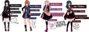 Diabolik Lovers OC - Okshver Family by MinaOffice