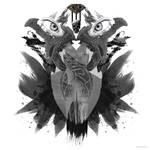 Kratos Abstract Double Exposure by xavierlokollo