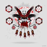 Angel Gundam by xavierlokollo