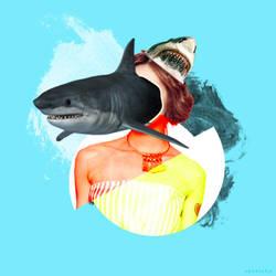 Shark Head  by xavierlokollo