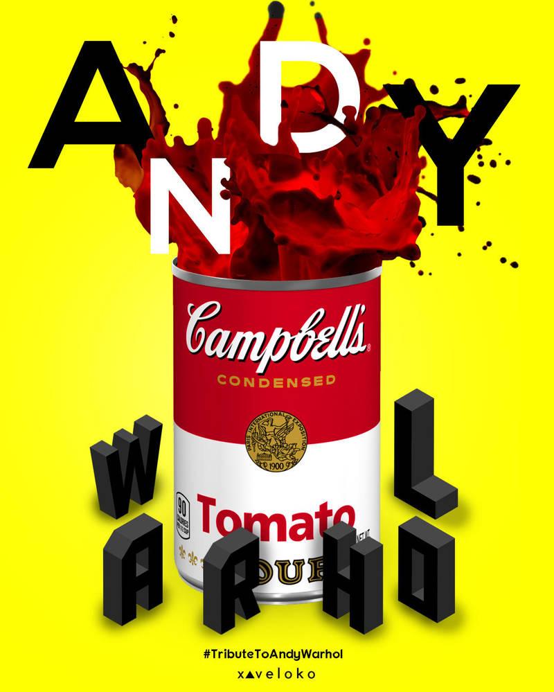 Tribute To Andy Warhol by xavierlokollo