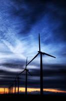 Nine Canyon Wind Energy HDR by laurynnelizabeth