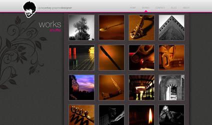 my portfolio v2 by Lyn3x