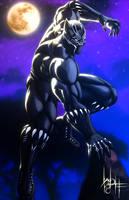 Black Panther by SirWolfgang