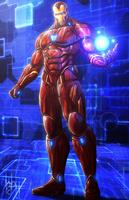 Iron Man by SirWolfgang