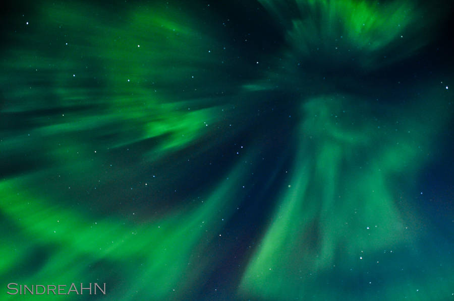 The First Aurora Zenith by SindreAHN