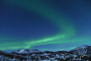 Moonlight Aurora by SindreAHN