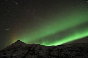 Valviktind Nightsky by SindreAHN