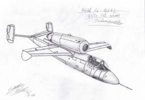 Heinkel He 162 A 2 Salamander by SindreAHN
