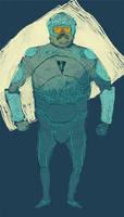 tron guy by louisroskosch