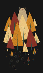 hiding in the woods by louisroskosch