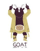da goat. by louisroskosch