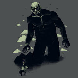 shadow of the titan by louisroskosch