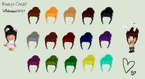 C2U Custom Hair by xCelestialRose