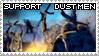 inFAMOUS - Support Dust Men by weskerian