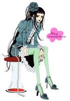 Paradise Kiss: Transparent PNG by ignite-the-airwaves