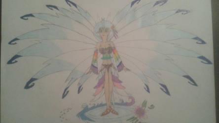 Princess Sakura (Rough Sketch w/ color) by NintendoBrother