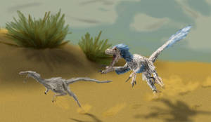 Desert Pursuit by PWNZ3R-Dragon