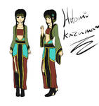 Hitomi Kazuma ref by Bitchy-Cakes