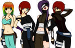 the team ,shippuden by Bitchy-Cakes
