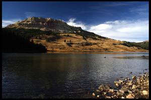 High Mountain Lake by Nestor2k