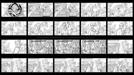 Storyboards - Char Gar 1 by joeymasonart