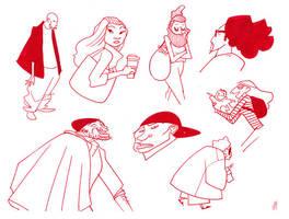 Sketches 1-1 by joeymasonart