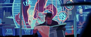 Blade Runner 2 by joeymasonart