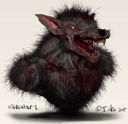Jc-werewolf-1 by dypsomaniart