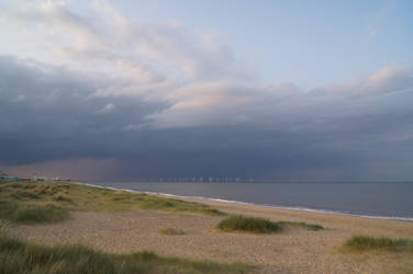 Incoming rain by Greattie