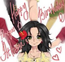 Portgas D Athena. Happy Birthday by Portgas-D-Hato