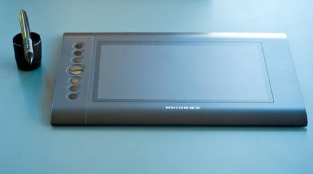 Huion H610 Tablet by Orbmiser