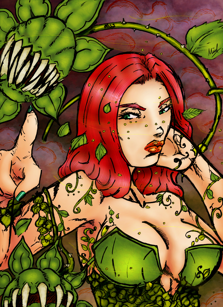 Poison Ivy - Is it worth it - colored by grenzmord
