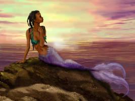 Mermaid by arrowchild