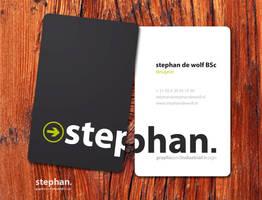Business card 02 by w0lfb0i