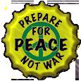 Peace Bottle Cap by bountyhunter25