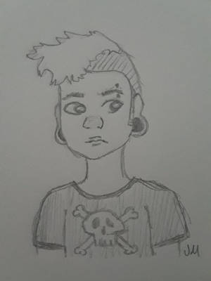 Punk Boi by mauve-jenna